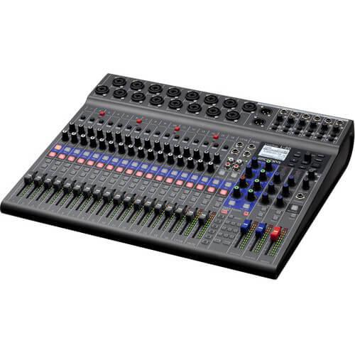 Zoom LiveTrak L 20 Digital Mixer Multitrack Recorder 4