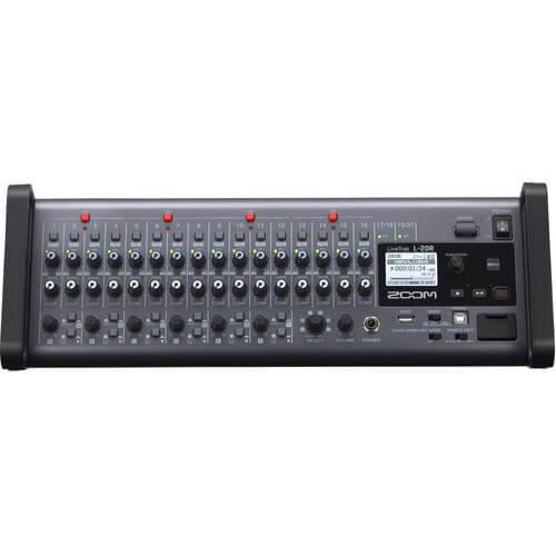 Zoom LiveTrak L 20r Digital Mixer Multitrack Recorder 4