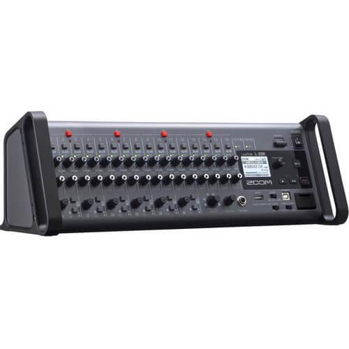 Zoom LiveTrak L 20r Digital Mixer Multitrack Recorder 5