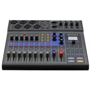 Zoom LiveTrak L 8 Portable Digital Mixer Multitrack Recorder 1