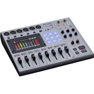 Zoom PodTrak P8 Portable Multitrack Podcast Recorder 1