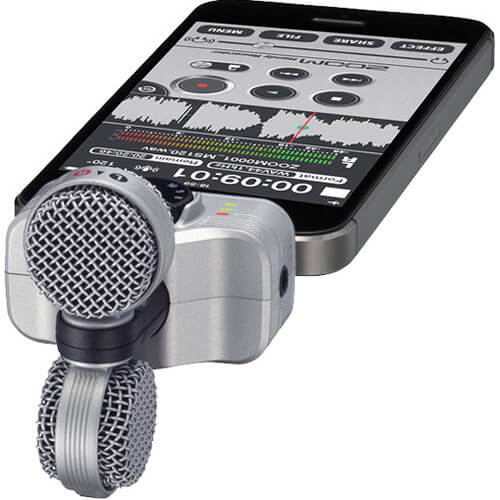 Zoom iQ7 Mid Side Stereo Microphone for iOS Devices 4
