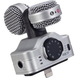 Zoom iQ7 Mid Side Stereo Microphone for iOS Devices 6
