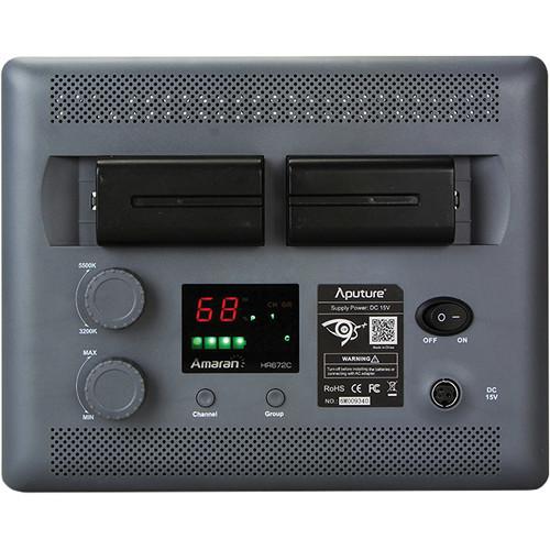 Aputure Amaran HR672C Bi Color LED Flood Light 5