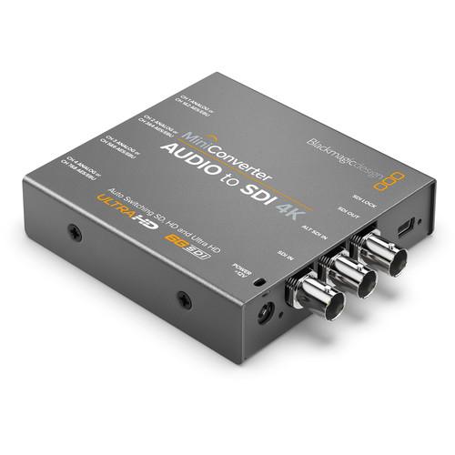 Blackmagic Design Mini Converter Audio to SDI 4K 1