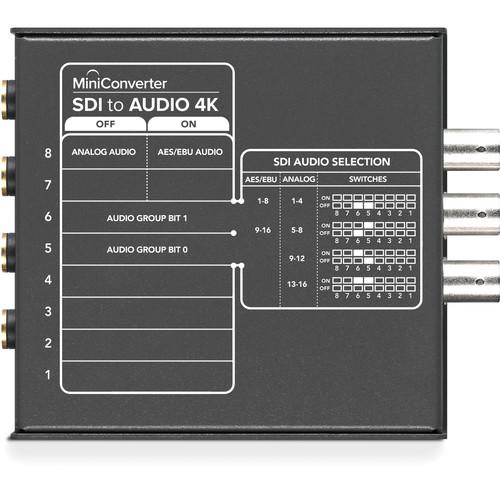 Blackmagic Design Mini Converter SDI to Audio 4K 3