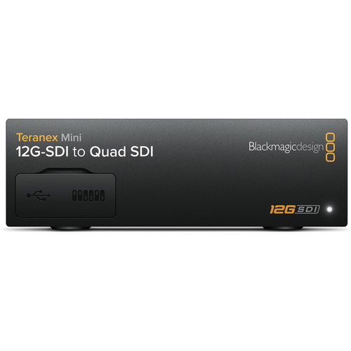 Blackmagic Design Teranex Mini 12G SDI to Quad SDI 1