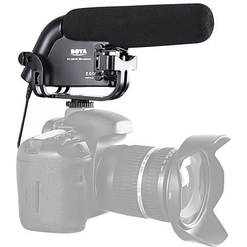 Boya BY VM190P Supercardioid Shotgun Microphone 6