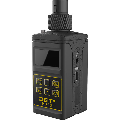 Deity Microphones HD TX Plug On Transmitter with Built In Recorde 1
