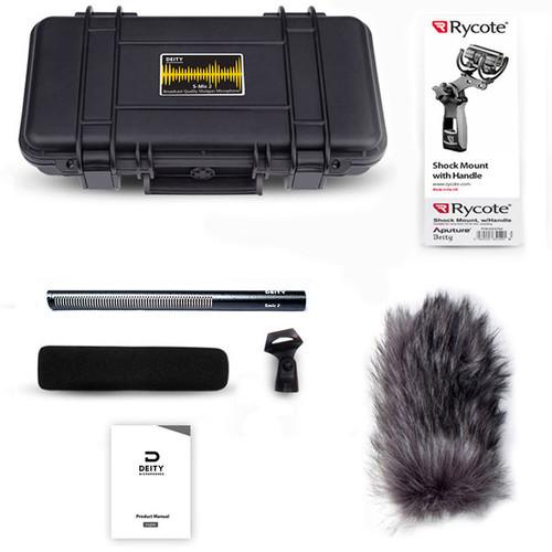 Deity Microphones S Mic 2 Location Kit Moisture Resistant Shotgun 6