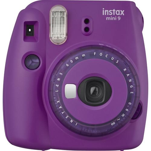 FUJIFILM INSTAX Mini 9 Instant Film Camera Clear Purple 1