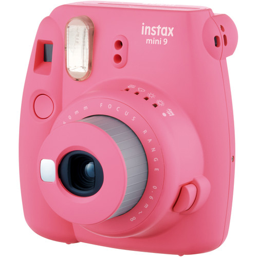 FUJIFILM INSTAX Mini 9 Instant Film Camera Pink 2