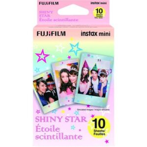 FUJIFILM INSTAX Mini Shiny Star Instant Film 1