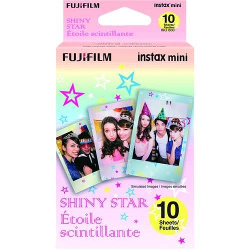 FUJIFILM INSTAX Mini Shiny Star Instant Film 1