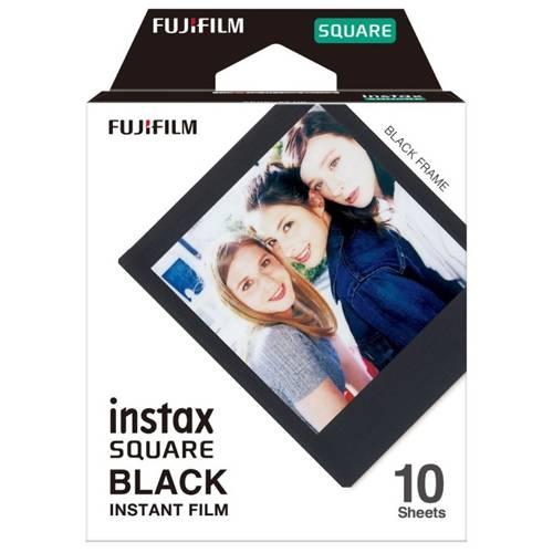 FUJIFILM INSTAX SQUARE Black Instant Film 3