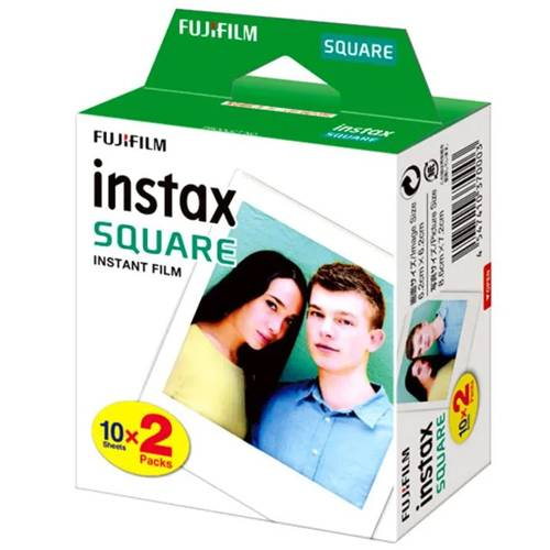 FUJIFILM INSTAX SQUARE Polos isi 20 Instant Film 1
