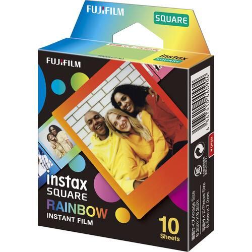 FUJIFILM INSTAX SQUARE Rainbow Instant Film 1