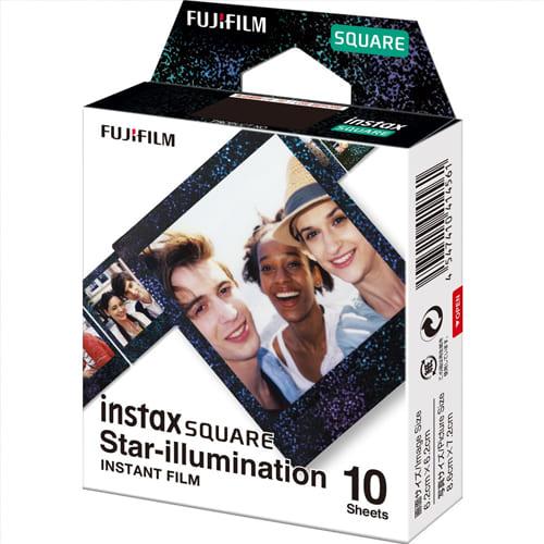FUJIFILM INSTAX SQUARE Star Illumination Instant Film 4