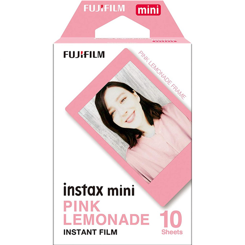 Fujifilm Instax Mini Pink Lemonade 1