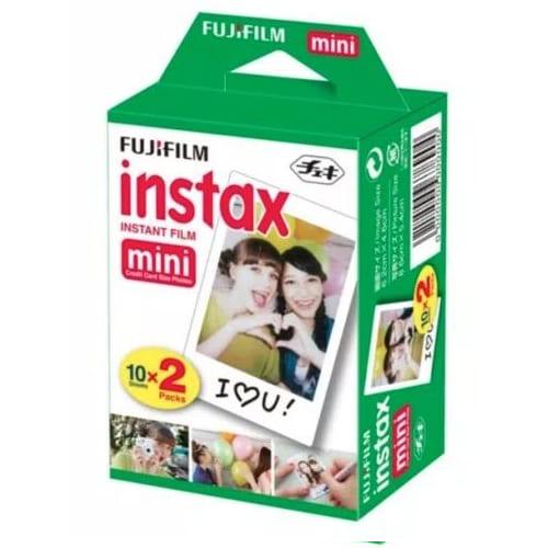 Fujifilm Instax Mini Polos Isi 20 Film 1