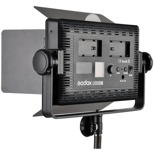 Godox LED500C Bi Color LED Video Light 3