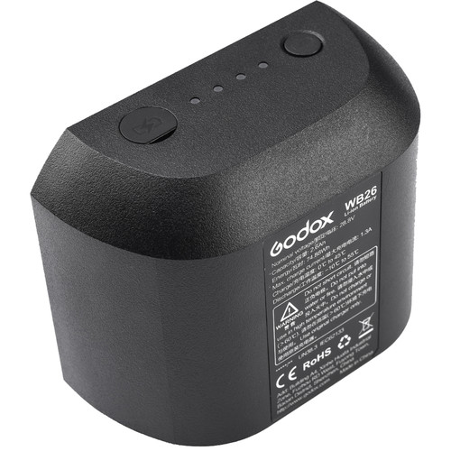 Godox WB26 Rechargeable Lithium Ion Battery Pack 1