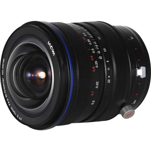 Laowa Venus Optics 15mm f45 Zero D Shift Lens 2