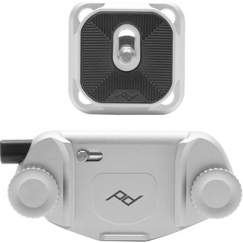 Peak Design Capture Camera Clip Silver 1