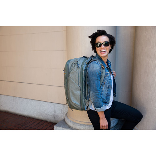Peak Design Travel Backpack 45L Sage 5