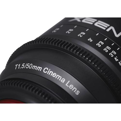 Samyang XEEN 50mm T1.5 Lens 3