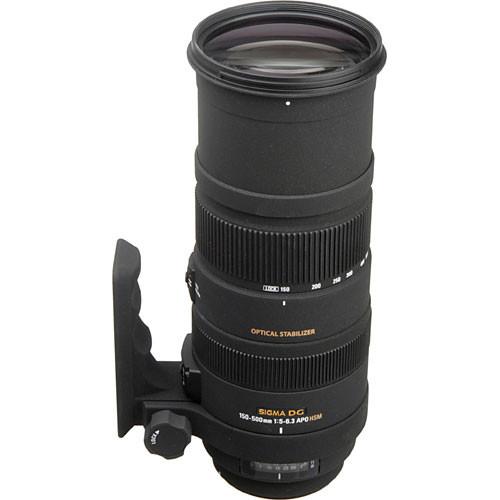 Sigma 150 500mm f5 63 APO DG OS HSM Lens 1