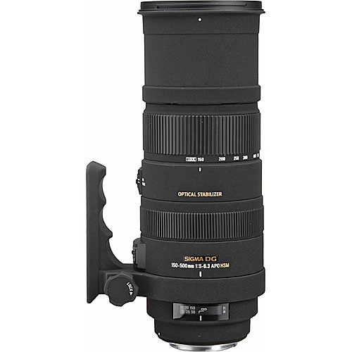 Sigma 150 500mm f5 63 APO DG OS HSM Lens 2