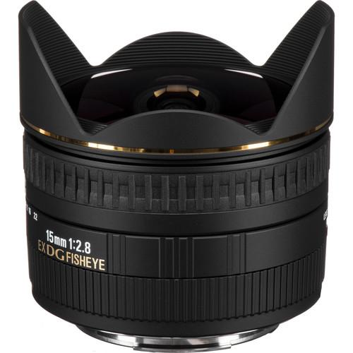 Sigma 15mm f28 EX DG Diagonal Fisheye Lens 2