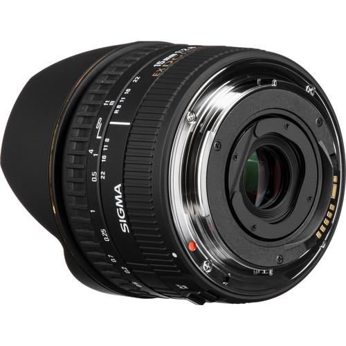 Sigma 15mm f28 EX DG Diagonal Fisheye Lens 6