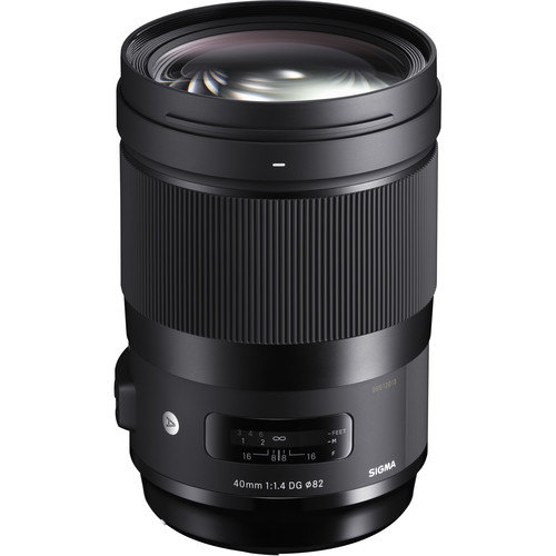 Sigma 40mm f14 DG HSM Art Lens 1