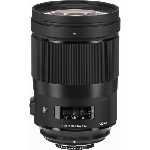 Sigma 40mm f14 DG HSM Art Lens 2