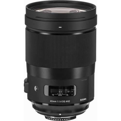 Sigma 40mm f14 DG HSM Art Lens 2