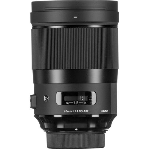 Sigma 40mm f14 DG HSM Art Lens 4