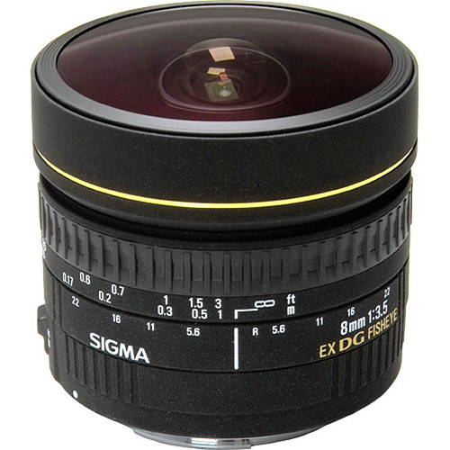 Sigma 8mm f35 EX DG Circular Fisheye Lens 2