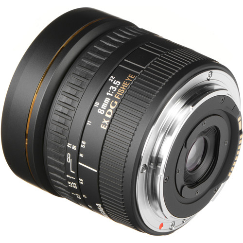 Sigma 8mm f35 EX DG Circular Fisheye Lens 4