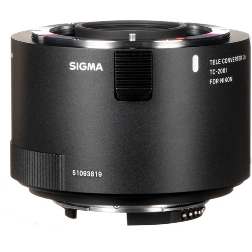 Sigma TC 2001 2x Teleconverter For Nikon 4