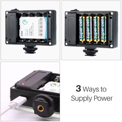 Ulanzi 112 LED On Camera Light 5