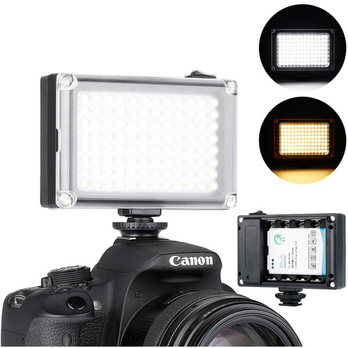 Ulanzi 96 LED Rechargeable On Camera Light 2