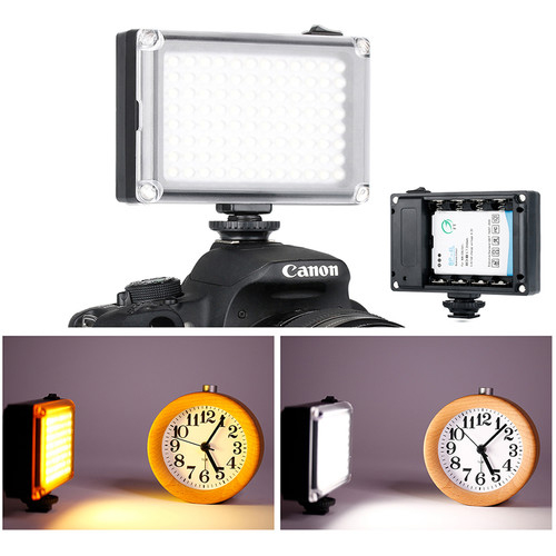 Ulanzi 96 LED Rechargeable On Camera Light 3