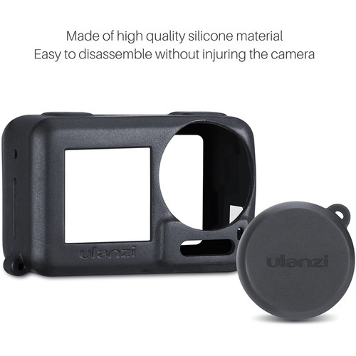 Ulanzi OA 3 Soft Silicone Case with Lens Cap for DJI Osmo Actiont 6