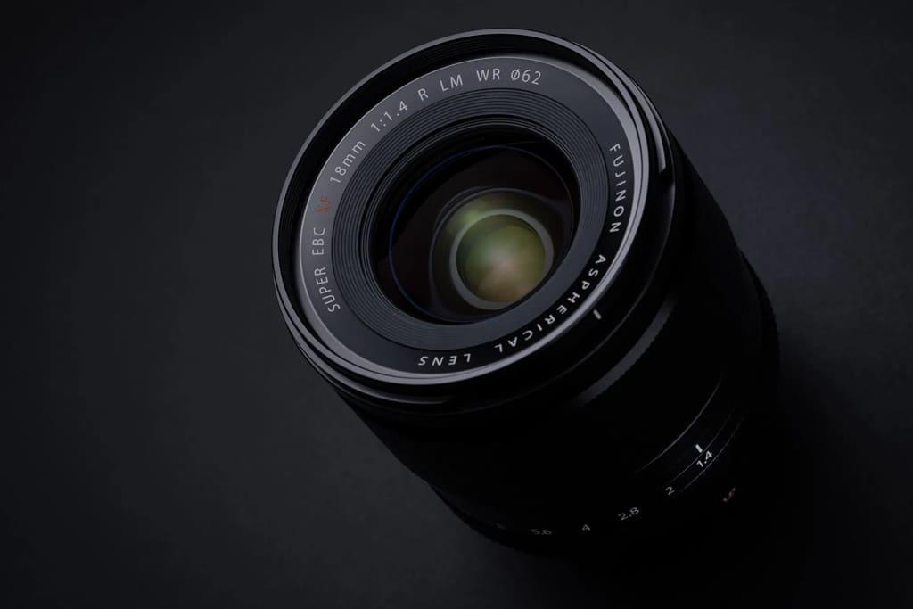 Fujinon Lens XF18MM f14 1