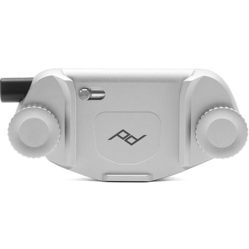 Peak Design Capture Camera Clip Silver 2