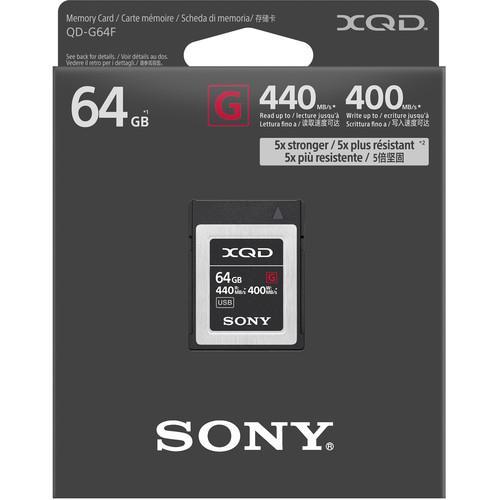 Sony 64GB G Series XQD Memory Card 2