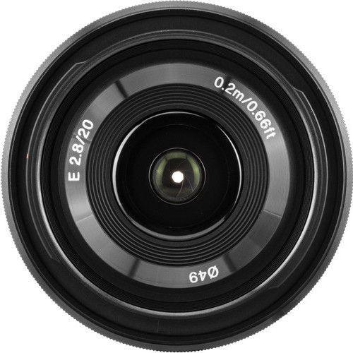 Sony E 20mm f2.8 Lens 4