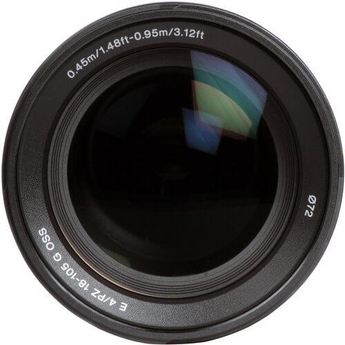 Sony E PZ 18 105mm f4 G OSS Lens 3